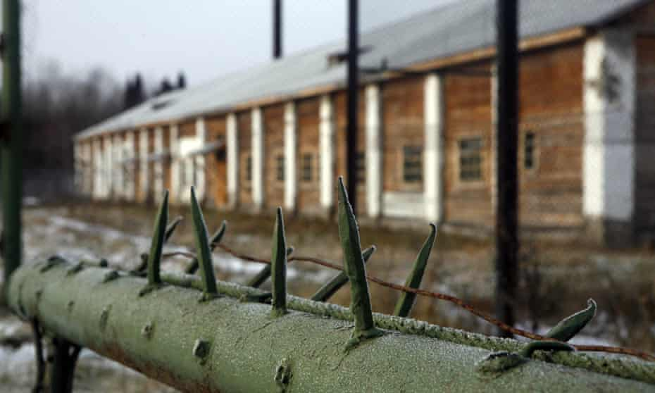 Wire and building at Perm-36