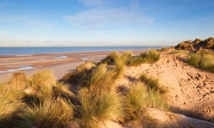 Formby Point; sand dunes