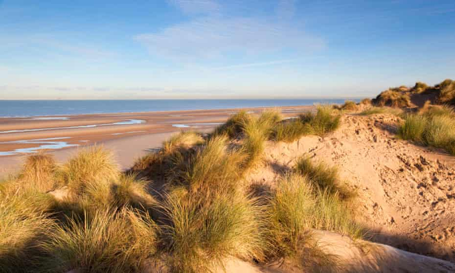 Formby Point; sand dunes; Lancashire