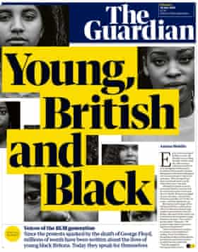 Guardian front page, Thursday 30 July 2020