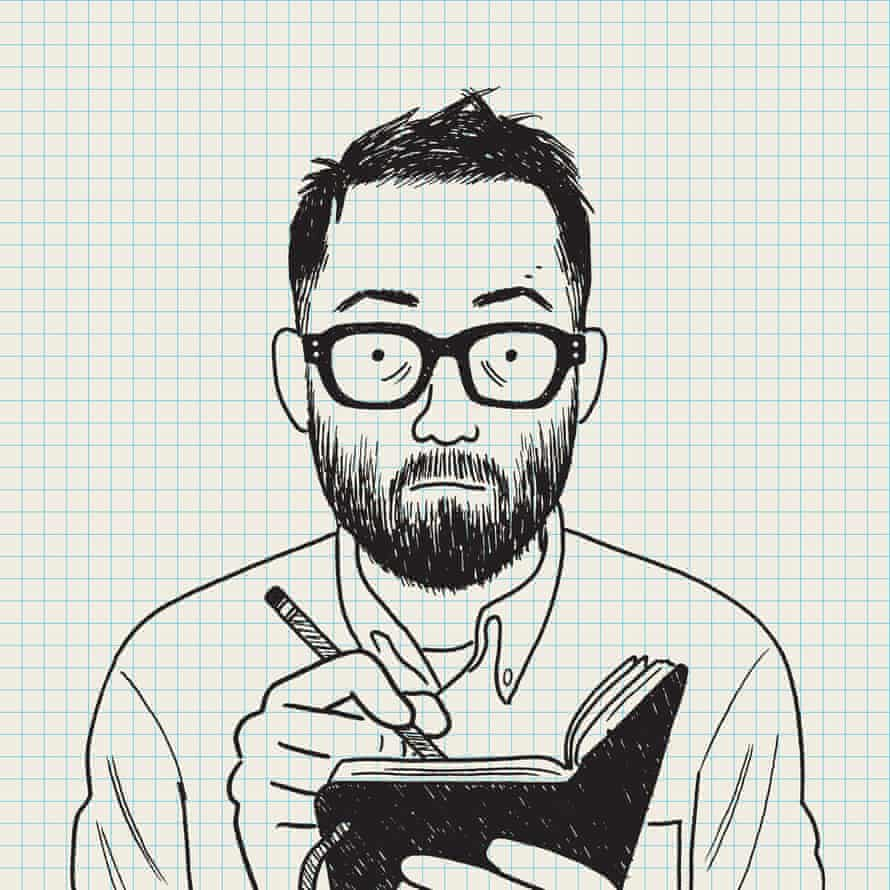 Self-Portrait 2020, by Adrian Tomine.