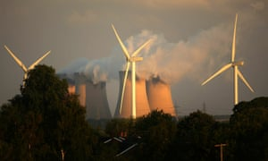 The UK's windfarms generated more electricity than coal power plants for the first time in 2016.