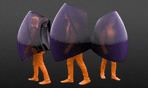 Penda coronavirus fashion bubble suits