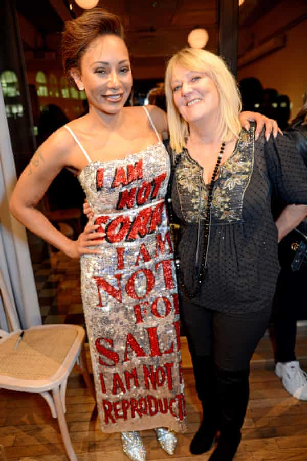 With her mum, Andrea, at the launch of Brutally Honest in 2018.