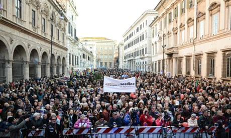 Grassroots movements can rise during this crisis – Italy's Sardines group shows how   Laura Spinney