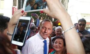 Tony Abbott in Sydney