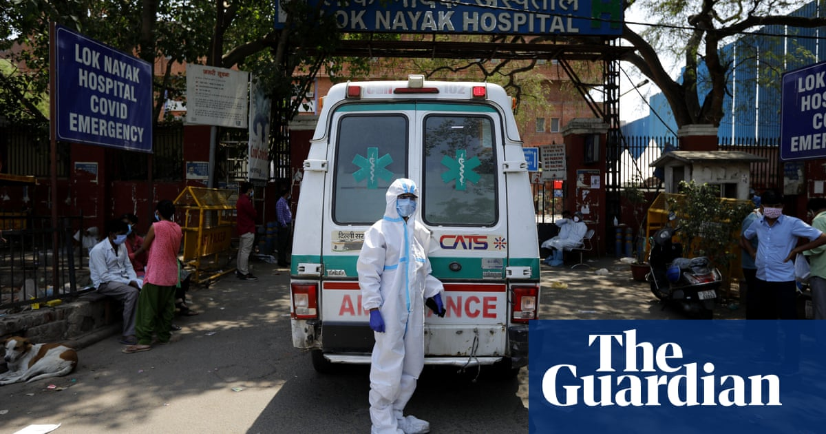 'World's worst outbreak': what India's papers say as coronavirus crisis toll mounts