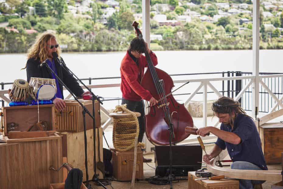 Big hART, Acoustic Life of Boatsheds, Mona Foma 2021.