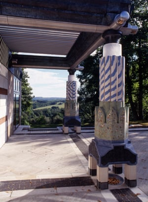 For the Tetra Pak family … columns at Wadhurst Park, East Sussex.