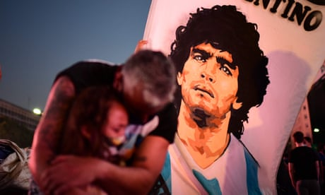World reacts to death of Diego Maradona – in pictures