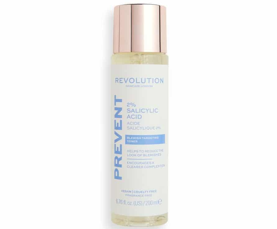 Revolution Beauty 2% Salicylic Acid Toner