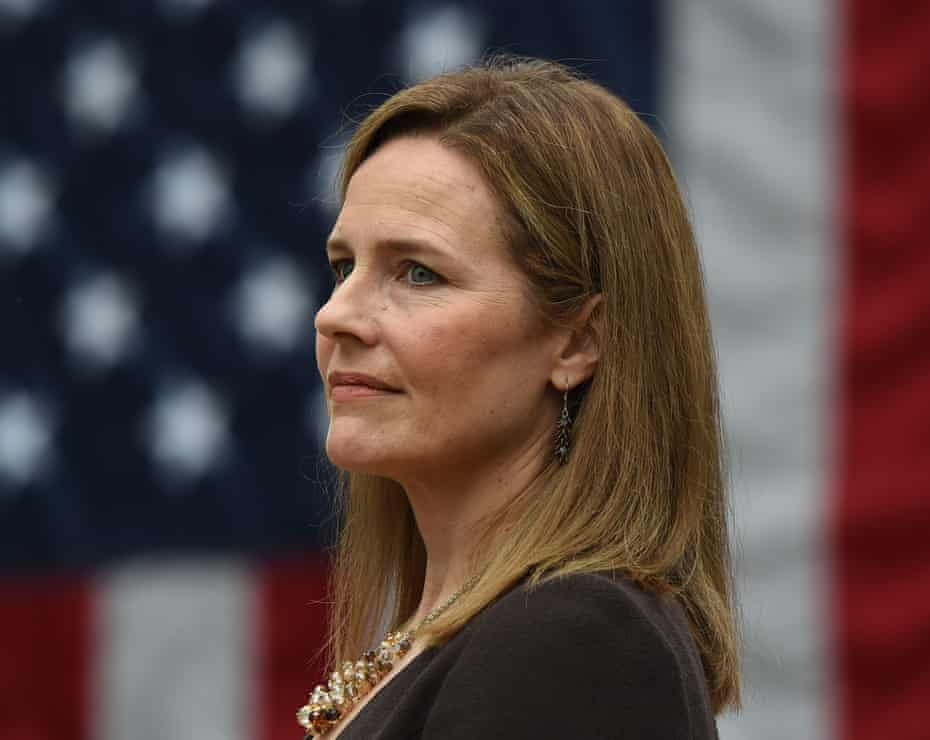 Amy Coney Barrett. 'Adding one more conservative justice gives all the conservative justices more fuel to be more political in what they're going to do,' says an attorney.