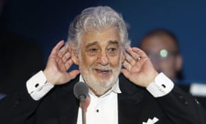 Placido Domingo … scheduled to perform Don Carlo in 2020 season.