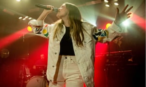 Maggie Rogers in concert at Omeara, London