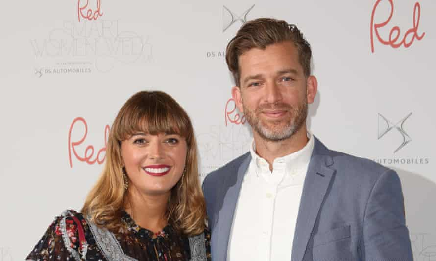 Clemmie Hooper with her husband Simon