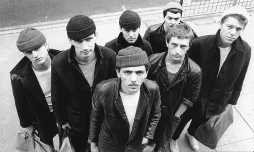 One I made earlier: Dexys Midnight Runners in the woolly hat period.