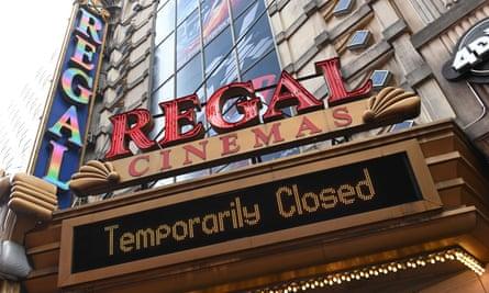 Regal cinema on 42nd street, New York
