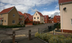A development of apartments and homes in Diss, Norfolk. Property values in the east of England grew by 11.56% on average this year, said Zoopla.