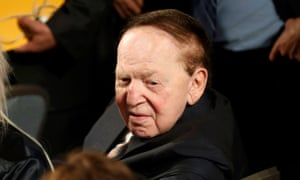 Republican donor Sheldon Adelson is throwing more money at the midterms.
