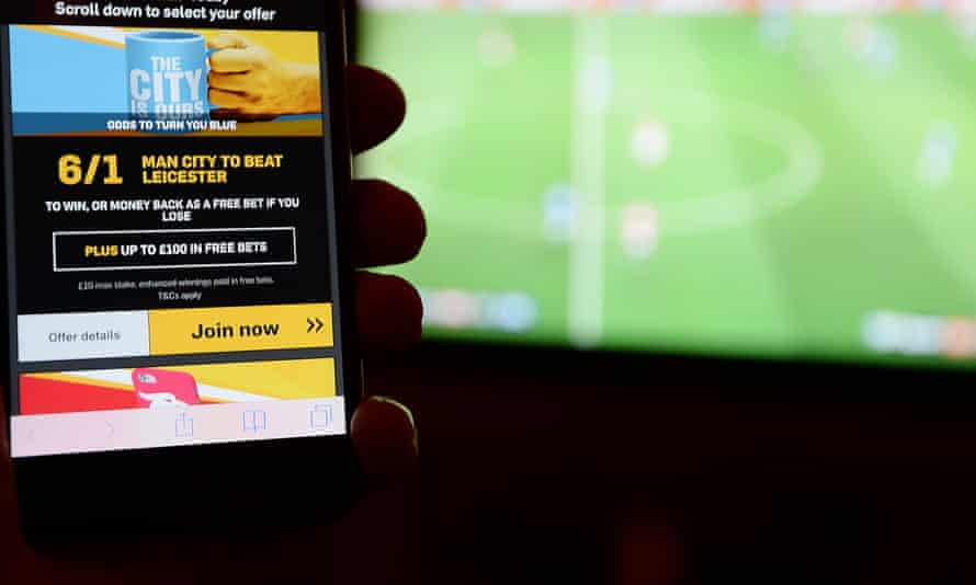 Young men commonly they have up to 25 accounts registered with online gambling companies, the research found.