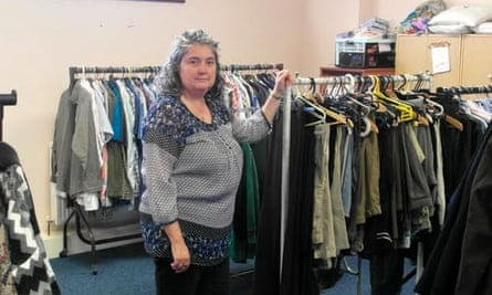 Louise Cooke of Sharewear clothes bank