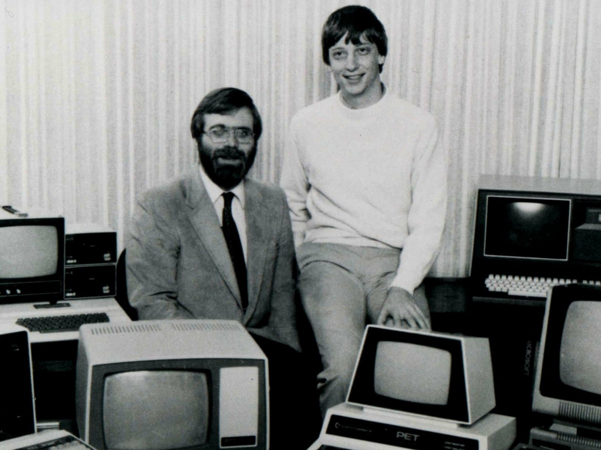 Paul Allen obituary   Technology   The Guardian