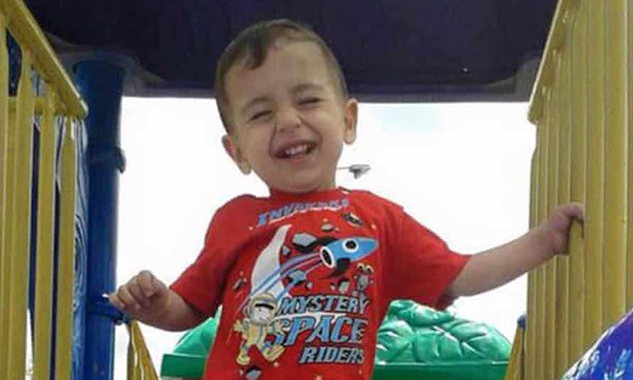 Alan Kurdi who was travelling in a boat heading for the Greek island of Kos.