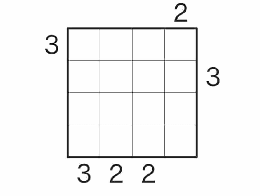 Skyscraper puzzle 1