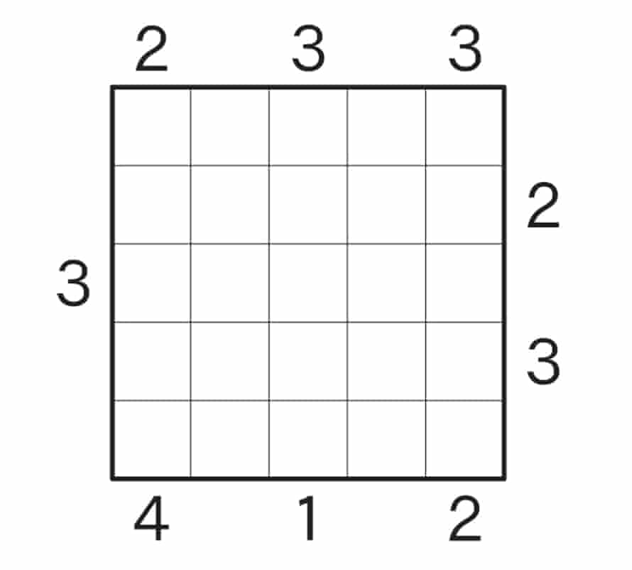 Skyscraper puzzle 3