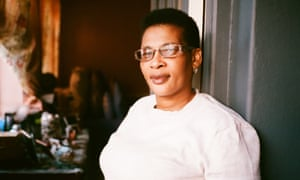 Sheila Madikane in her apartment in Sea Point, where she has lived for 30 years.