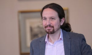 Pablo Iglesias, who last week struck a coalition deal with Spain's ruling socialists