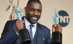 Idris Elba won two gongs at the Screen Actors Guild Awards last month, and said: 'Welcome to diverse TV.'