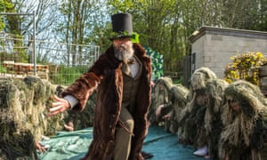 Digging for Shakespeare at Roedale allotments, Brighton