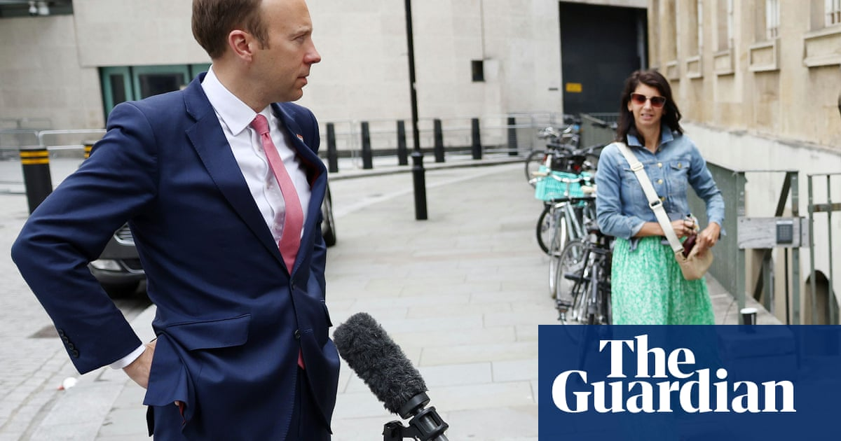 Pressure on Matt Hancock to quit after PM backs him over tryst with colleague