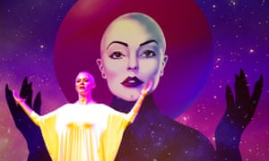 'Clearly a meaningful project for her' ... Rose McGowan in Planet 9 at the Edinburgh festival.