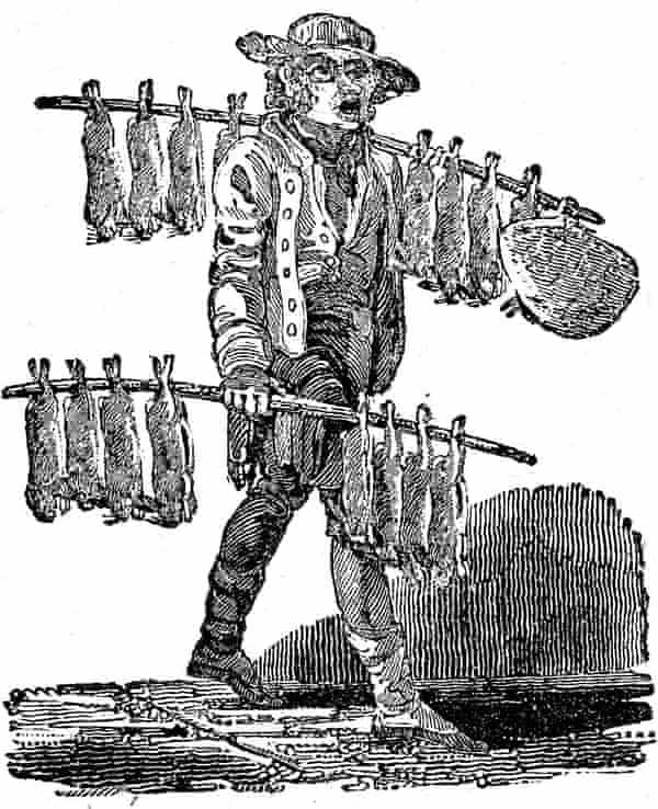 """Rabbit, rabbit! Nice fat rabbit!"" By Luke Clennell, 1812."