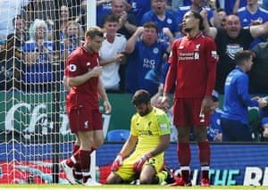 Mistake like Alisson's against Leicester City are inevitable if you keep taking risks, says Jordan Pickford.