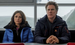 Julia Louis-Dreyfus and Will Ferrell in Downhill.