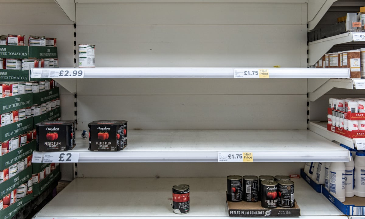Uk Supermarkets Ration Toilet Paper To Prevent Stockpiling World News The Guardian