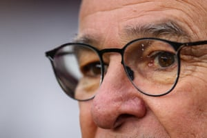 Claudio Ranieri looks on as his team suffer another defeat and are the first side in the Premier League to fail to win any of their opening 12 matches on the road in the competition since both Leicester (13) and Burnley (17) during the 2016-17 campaign.