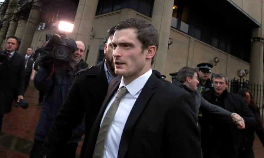 Adam Johnson faces between five and 10 years in jail after being found guilty of sexual activity with a child