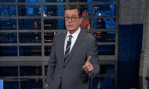 Stephen Colbert: the State of the Union was 'not a particularly good speech, but what it lacked in quality, it made up in length'.