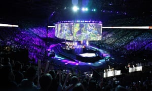 Professional gamers have become sporting heroes to children and esports competitions are viewed by millions