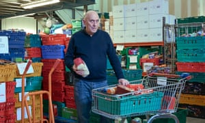 Howard Wardle, chief executive of Eastbourne Foodbank: 'I talked to a mum the other day. She'd collapsed and was diagnosed with malnutrition.'