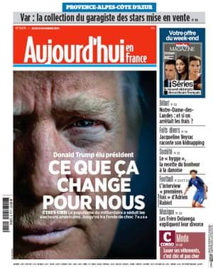 Aujourd'hui, France
