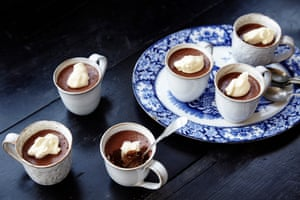Set loose the mousse: Jeremy Lee's version is quite alluring served in teacups.