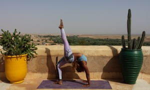 Yoga Explorers at Hotel Tigmi, Morocco