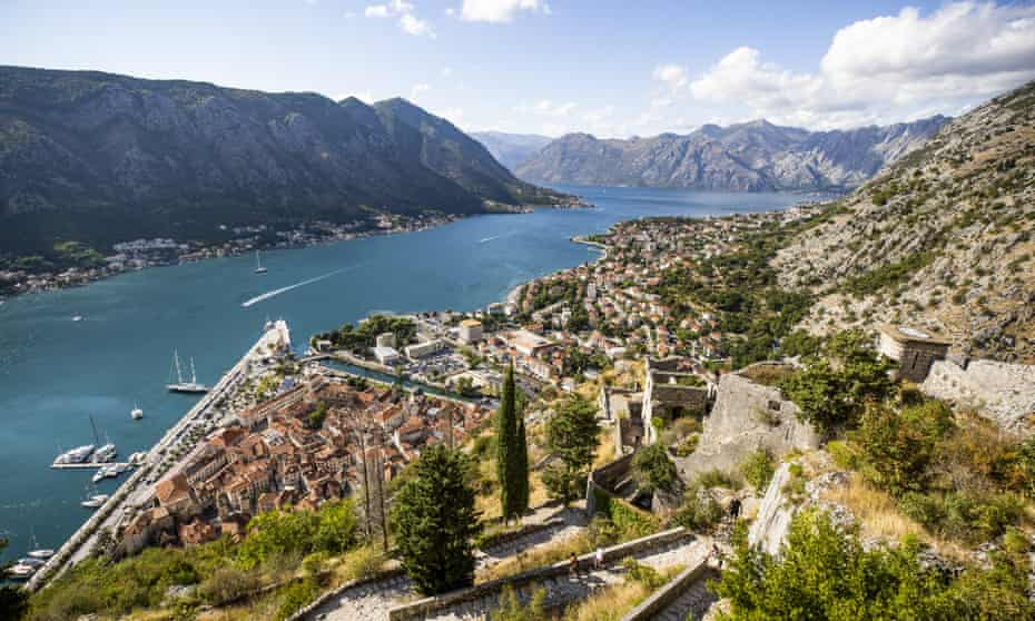 A view from Kotor town.