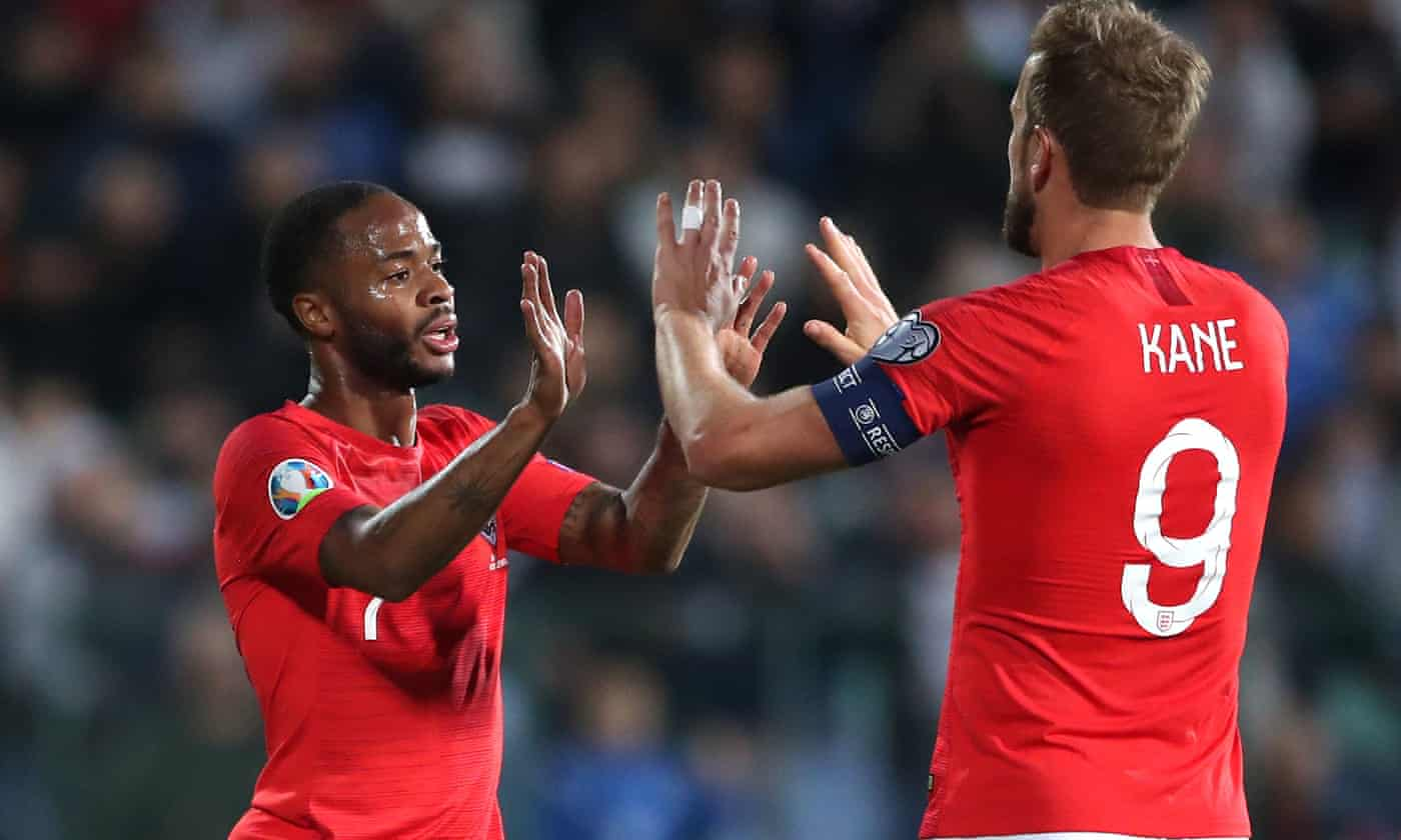 England crush Bulgaria 6-0 but racist chants force stoppages in qualifier