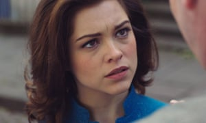 Sophie Cookson, in the title role of the BBC series The Trial of Christine Keeler